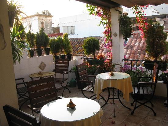 La Villa Marbella - Charming Hotel: roof-top terrace
