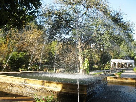 Samode Bagh: The fountains