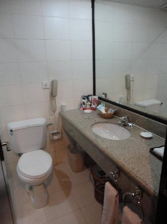 Kuitun, China: Bathroom