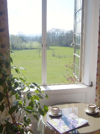 Cleeve House Bed & Breakfast: View from room 5 & 6