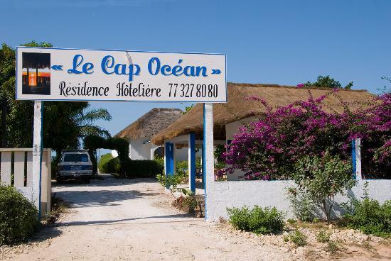 Le Cap Ocean : entrée hotel