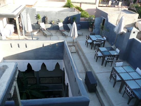 Riad Alamir: terrace view