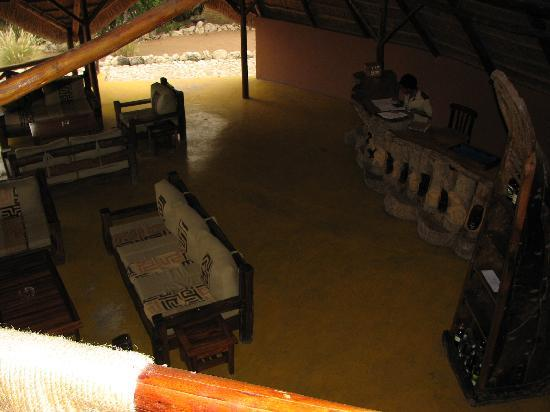 Losirwa Camp: loung/reception