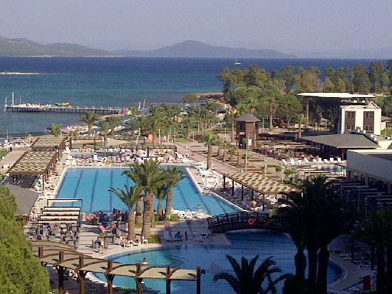 Venosa Beach Resort & Spa: View from the balcony