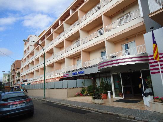 Can Pastilla, España: l hotel coté rue