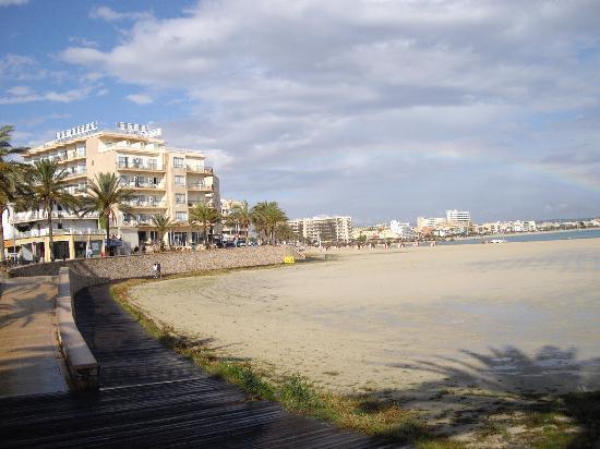 Hotel Calma: la playa