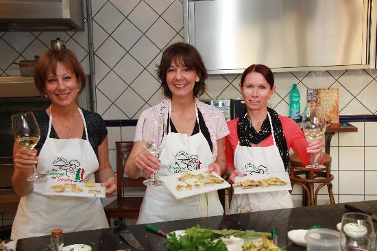 Cooking School La Cucina del Gusto by Oasi Olimpia : Proud cooks