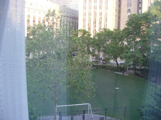 Hotel Mulberry: view onto the park