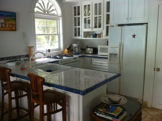 Gibney Beach Villas: kitchen