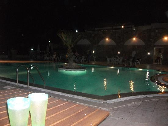 pool at night picture of bellacasa suites club gumbet tripadvisor. Black Bedroom Furniture Sets. Home Design Ideas