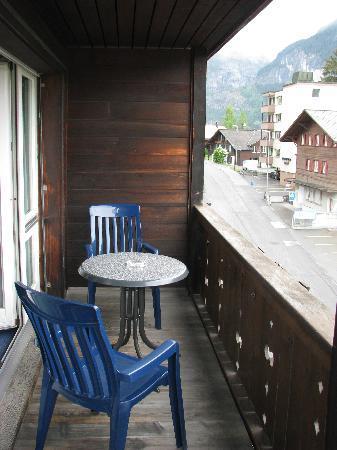 Jungfrau Lodge Swiss Mountain Hotel: Balcony
