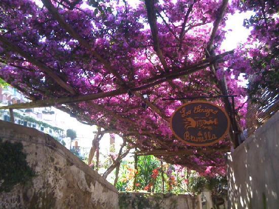Positano, Italien: Weg zum Zentrum