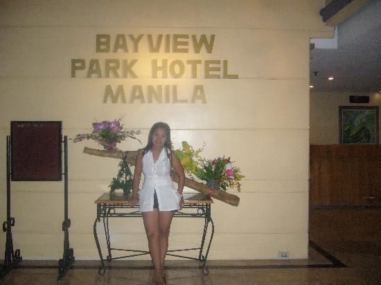 Bayview Park Hotel Manila: hotel lobby