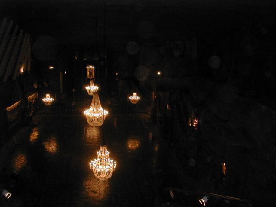 Wieliczka: La Chiesa