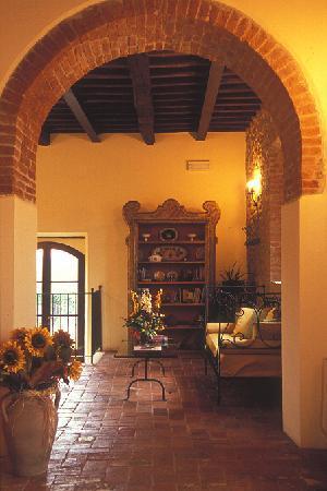 Relais Borgo di Stigliano: Living room