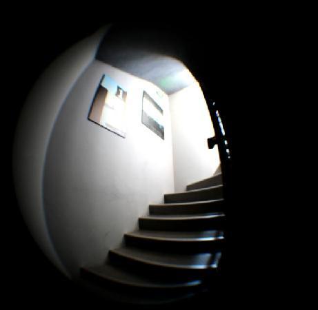 Hotel 7 Art: Accès aux étages par escalier