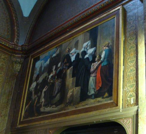 Pharmacie de la Misericorde: One of the paintings in the chapel