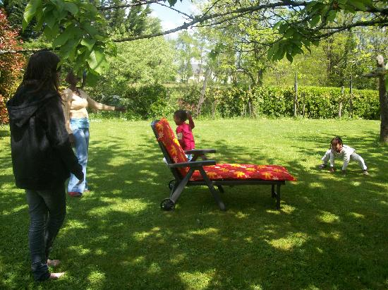 Chambres d'hotes et Gite rural Miragou : Bains de soleils