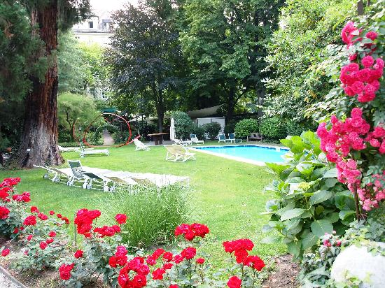 Parkhotel Laurin: Pool