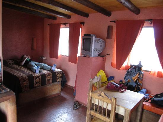 Mamuna: Cabin interior