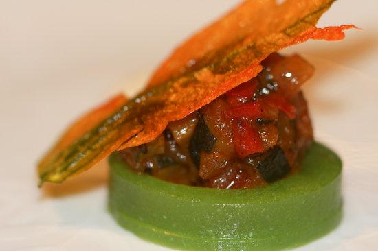 Ramon Freixa Madrid : tomato starter