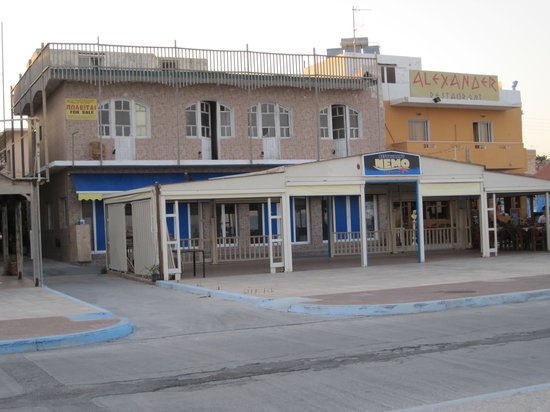 Nemo Restaurant: The original nemos Restaurant, Still empty
