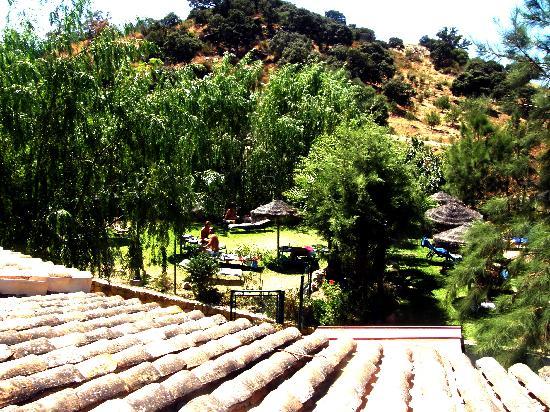 Complejo Rural Caicune: vista desde el patio