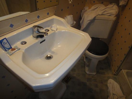 El Salvador, Cile: baño hotel