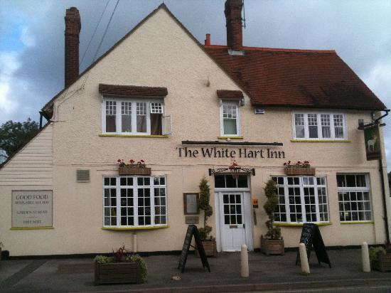 The White Hart Inn: Ingresso