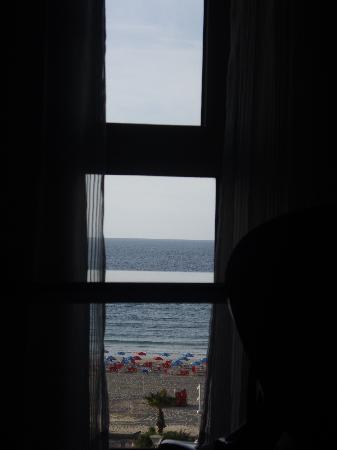 The Maxim Hotel: View from the bed