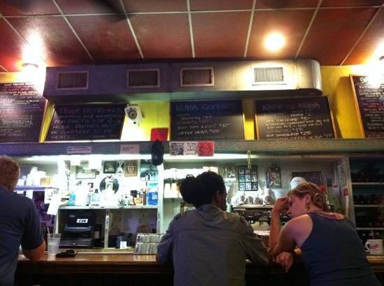 Kuba-Kuba: the bar/counter at Kuba Kuba