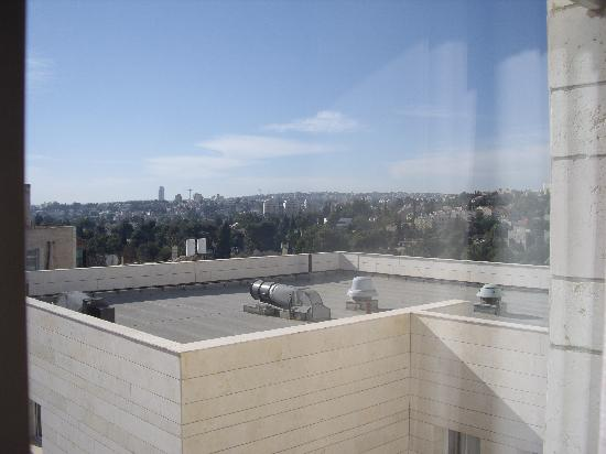 Dan Boutique Jerusalem: View from room (backside)