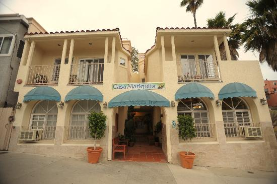 Casa Mariquita Hotel: View from the front