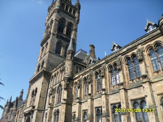 University of Glasgow: main building