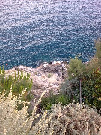 Casa Privata : private sea access