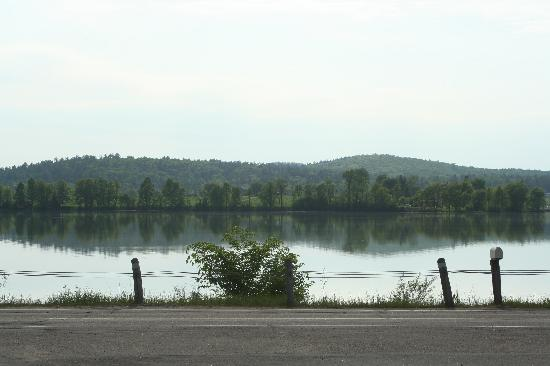 Barry's Bay, Canada: View from parking lot