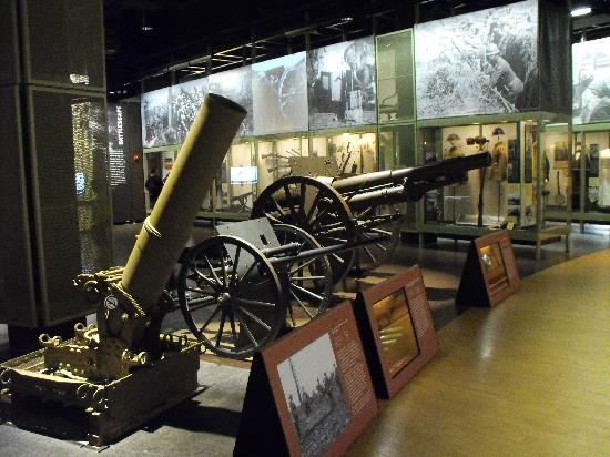 National World War I Museum and Memorial : Interno del Museo
