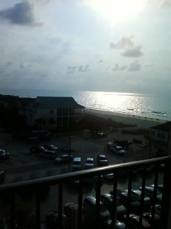 Surfside Beach Oceanfront Hotel: sunrise
