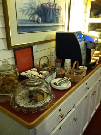 By the Sea Guests: fresh baked cakes and cookies each day