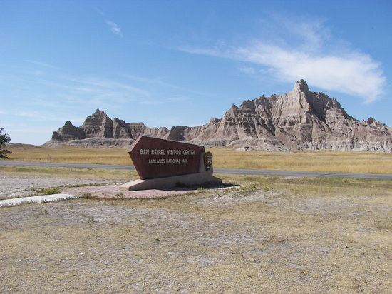 Badlands National Park, SD: the visitor center