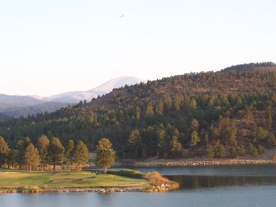Inn of the Mountain Gods Resort & Casino: View from balcony!