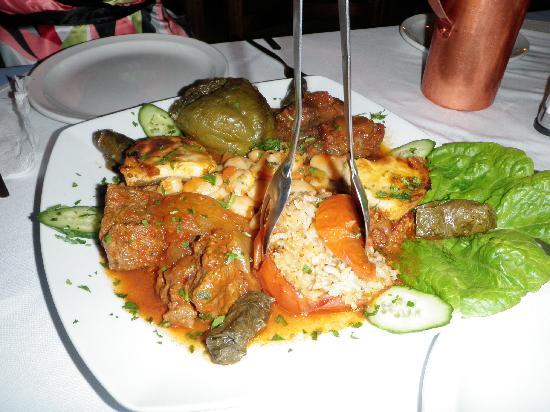 Esperos: Greek plate