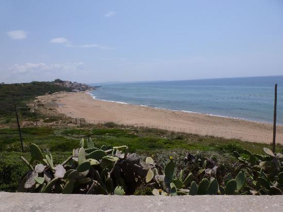 The beach at Selinunte