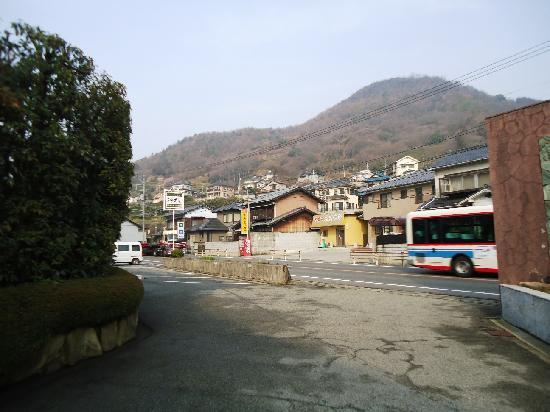 Center Hotel Mihara: Located right by the only road in the village