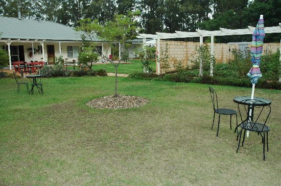 Rosedale Bed & Breakfast: Part of the 5 acre garden