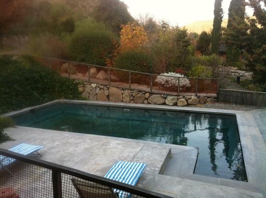 Hotel Altiplanico Cajon del Maipo: piscina
