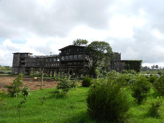 Aberdare National Park, Kenia: The hotel