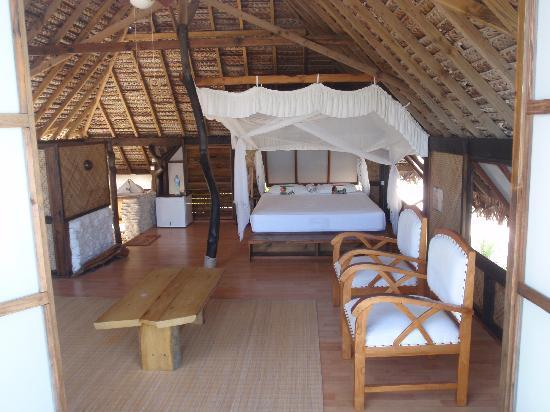 Tevahine Dream: la chambre bungalow noce de perles