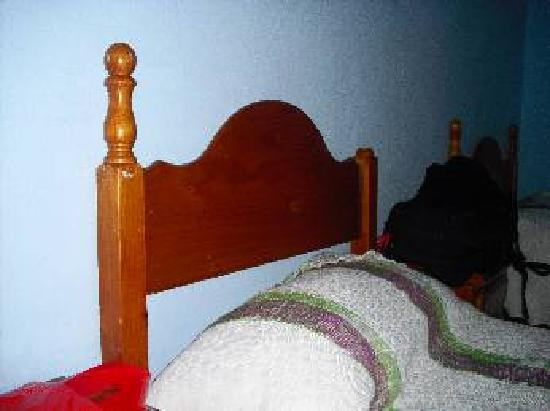 Hostal la Gloria: camas