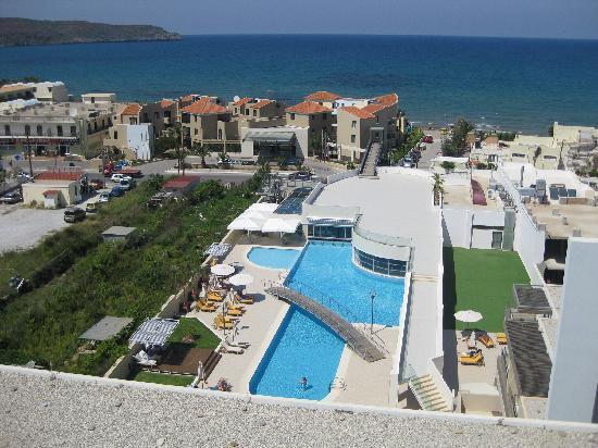 Agia Marina, Griechenland: Fin utsikt
